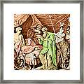 Alexander The Great And His Physician Framed Print