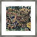 America: Shipbuilding, C1594 Framed Print