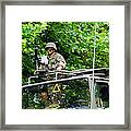 An Infantry Soldier Of The Belgian Army Framed Print