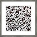 Aspen Mocha Latte Framed Print