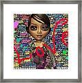 Baby Maya Framed Print