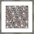 Brown Abstract Framed Print