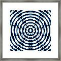 Circle Flower Framed Print