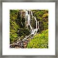 Crater Lake Falls Framed Print