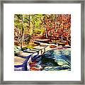 Cunningham Falls Walkway Framed Print