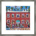 Eclectic Avenue Framed Print