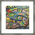 Eyes In Disguise Framed Print
