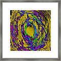 God's Fingerprint - Uranium Framed Print by Colleen Cannon