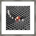 Gravity Simulation Framed Print