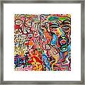 Id Ego Super Ego Framed Print by Michael Henzel