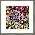 In The Pink Framed Print by Ann  Nicholson