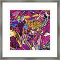 Moon Rock, Transmitted Light Micrograph Framed Print by Michael W. Davidson - FSU