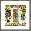 Old Spanish Tiles Framed Print
