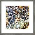 Olive Garden Framed Print