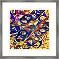 Pop Art b15 Framed Print