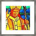 Pope John Paul 11 Framed Print