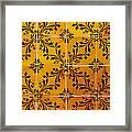 Portuguese Tiles Framed Print