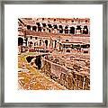 Roman Coliseum  Framed Print
