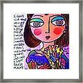 Scarlett O'hara Framed Print
