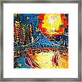 Sun City Framed Print