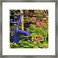 Village Pump Framed Print