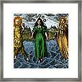 Alchemy Illustration Framed Print
