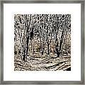 Ambresbury Banks  Framed Print