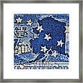 1959 Alaska Statehood Stamp Framed Print