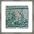 1964 New York World's Fair Stamp Framed Print