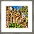 Sedona Tlaquepaque Shopping Center Framed Print