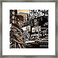 Street Phenomenon 50 Cent Framed Print