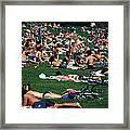 Summer In Central Park Framed Print