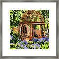 Tuscan Garden Framed Print