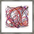 2012 Drawing #3 Framed Print