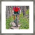 Mountain Bike Framed Print