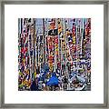 Mackinac Race Framed Print