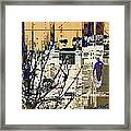 3011 - All Dissolving Into Computer Chips Framed Print