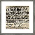 Confederate Banknote Framed Print