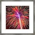 4th Of July - Independence Day Fireworks Framed Print