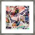 Abstract Composition Framed Print