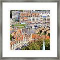 City Of Gdansk In Poland Framed Print