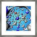 Molecule, Artwork Framed Print