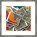 The Art Abstract  Framed Print