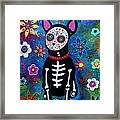 Chihuahua Dia De Los Muertos Framed Print