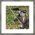 Fall  Halloween On Tillson Street Framed Print