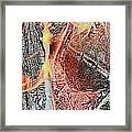 Wood Fire Framed Print