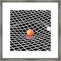 Gravity Simulation Framed Print