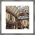 Leadenhall Market London Framed Print
