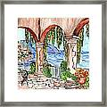 A Day To Relax Framed Print