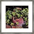 A Kettle Of Greens Framed Print
